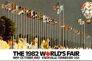 Tennessee Knoxville 1982 World's Fair Court Of Flags