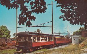 Strasburg Railroad Route 741 Penna Train Postcard