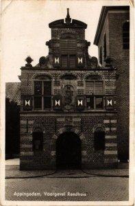 CPA APPINGEDAM Voorgevel Raadhuis NETHERLANDS (705907)