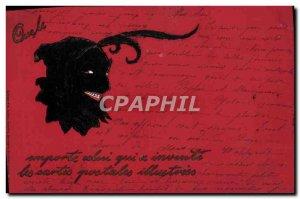 Postcard Old Devil
