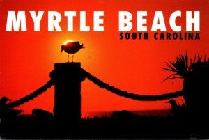 South Carolina Myrtle Beach Sunrise 1999