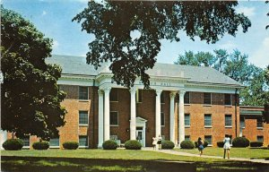 Midway Kentucky 1976 Postcard Midway College Christian Education for Women