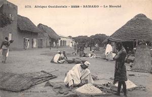 Mali Soudan Bamako Le Marche, Commerce, Markt Market