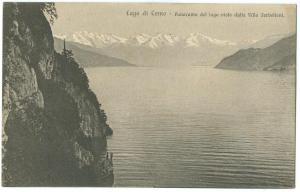 Italy, Lago di Como, Panorama del lago vista dalla Villa Serbelloni