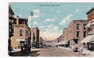 BERLIN , Wisconsin, PU-1913 ; Huron Street