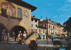 Italy Lago d'Orta Orta San Giulio La Piazza 1963