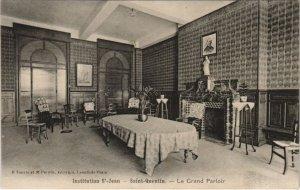 CPA Saint Quentin- Institution St Jean, Le Grand Parloir FRANCE (1046256)