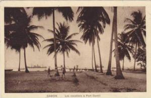 Les Cocotiers A Port-Gentil, Gabon, Africa, 1900-1910s
