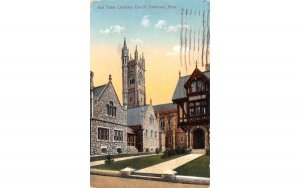 Tower Unitarian Church Fairhaven, Massachusetts Postcard