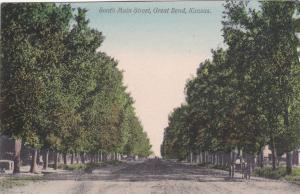 GREAT BEND , Kansas , 00-10s ; South Main Street