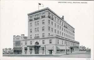 Indiana Bedford Greystone Hotel Curteich