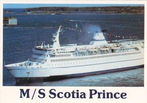 Canada M S Scotia Prince Yarmouth Nova Scotia