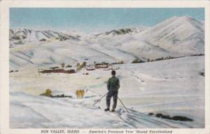 Skiing At Sun Valley Idaho 1948