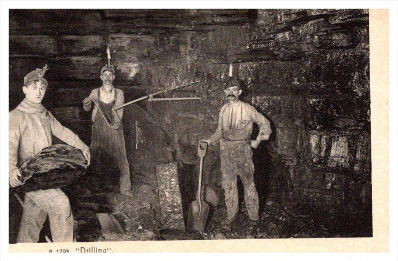 20403  Coal miners in Mine Drilling
