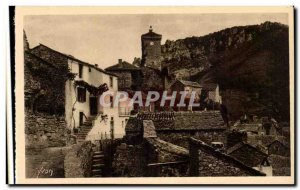 The Gorges du Tarn - Peyreleau - Old Postcard