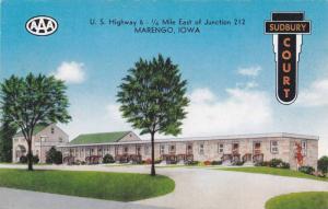Exterior, Sudbury Court, Marengo, Iowa,  40-60s