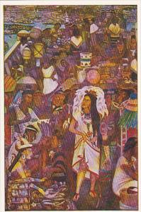 Diego Rivera The Courtisan And The Merchants Palacio Nacional De Mexico