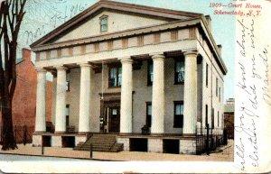 New York Schenectady Court House1906