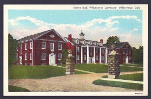 Emery Hall Wilberforce University OH unused c1930's