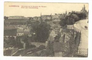 Vue Prise De La Descente De Clausen, Blick Vom Clausenerberg, Luxembourg, 190...
