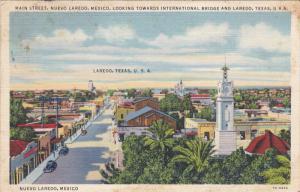 Main Street , Nuevo Laredo , Mexico , PU-1939