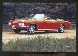 1969 CHEVROLET CORVAIR MONZA CAR DEALER ADVERTISING POSTCARD '69 CHEVY
