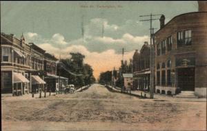 Farmington ME Main St. c1910 Postcard