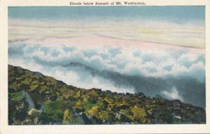 Clouds below the Summit of Mt Washington - White Mountains, New Hampshire - WB
