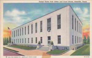 Texas Amarillo United State Post Office And Court House