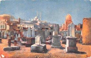 Arab Cemetery Cairo Egypt, Egypte, Africa Unused