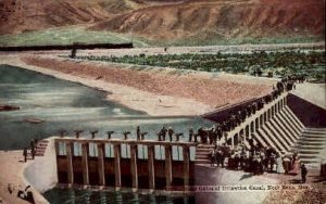Head Gates of Irrigational Canal in Reno, Nevada