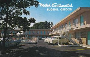 EUGENE, Oregon, PU-1963; Motel Continental, U.S. 99