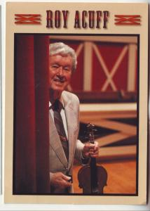P699 roy acuff at the grand ole opry house