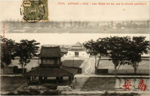 CPA AK INDOCHINA Annam Les Bains du roi VIETNAM (956850)