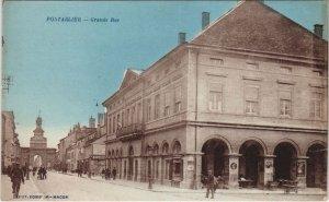 CPA PONTARLIER - Grande Rue (131348)