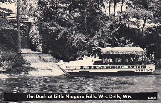 Wisconsin Dells The Duck At Little Niagara Falls