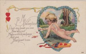 Valentine's Day Cupid Reading Cards