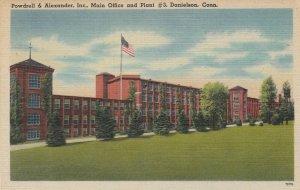 DANIELSON , Connecticut , 30-40s ; Powdrell & Alexander Inc , Mn Office & Plant