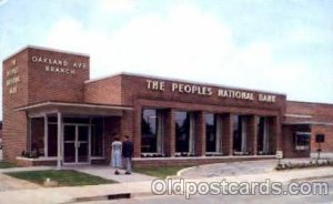 The Peoples National Bank of Rock hill, South Carolina, USA Postcard Post Car...