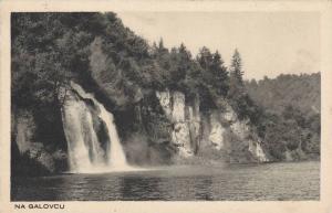 Waterfalls, Na Galovcu, Plitvička Jezera, Croatia, 1910-1920s