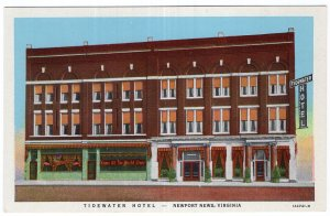 Newport News, Virginia, Tidewater Hotel