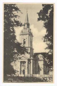 Aalborg. Ansgar Kirken Denmark 1910-30s