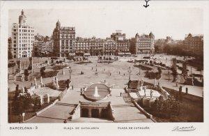 RP: BARCELONA , Spain, 1929 ; Plaza De Cataluna