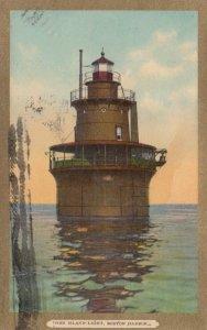 Deer Island LIGHTHOUSE , Boston , Mass. , 1908
