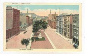 Carre Victoria, Victoria Square, Montreal, Quebec, Canada, 1900-1910s