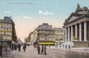 Belgium Brussels Anspach Boulevard