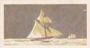Brooke Bond Vintage Trade Card Saga Of Ships 1970 No 21 Revenue Cutter