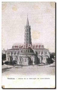 Postcard From Old Toulouse Apse Basilica Of St. Sernin Advertisement Milk of ...