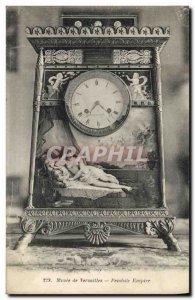 Old Postcard Museum of Versailles Empire Clock