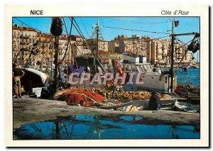 Nice Modern Postcard The port of fishermen